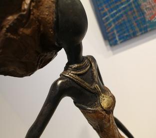 Femme maron africaine