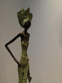 Femme verte africaine