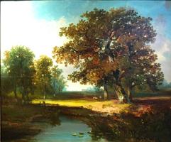 ÉCOLE HOLLANDAISE- HERMANUS JAN HENDRIK RIJKELIJK